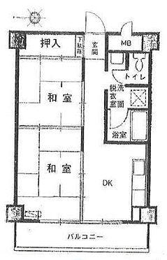 区分マンション-大阪市城東区東中浜9丁目 現状の2DKから1LDKにリノベーション予定