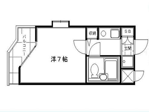 マンション(建物一部)-京都市伏見区菱屋町 間取り