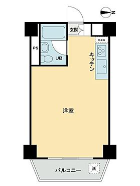 中古マンション-渋谷区桜丘町 間取り
