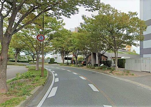 区分マンション-福岡市南区野多目3丁目 前面道路写真。