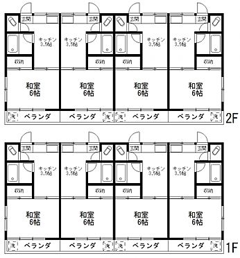 アパート-練馬区貫井3丁目 間取り