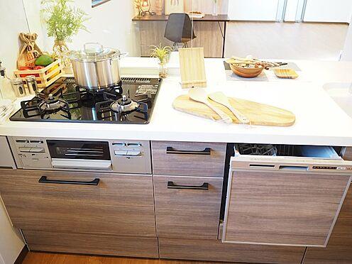 新築一戸建て-八王子市堀之内2丁目 食器洗浄乾燥機付システムキッチン