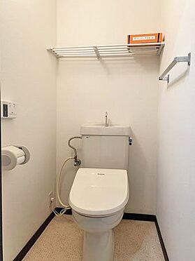 中古マンション-伊東市八幡野 ≪トイレ≫ 洗浄機能付きのトイレ。