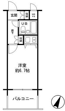 マンション(建物一部)-神戸市兵庫区松原通4丁目 間取り