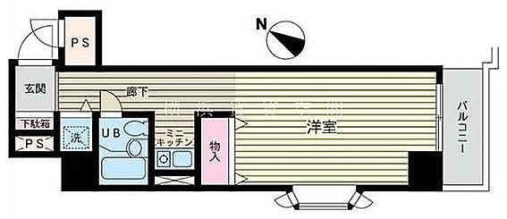 マンション(建物一部)-横浜市南区真金町2丁目 間取り