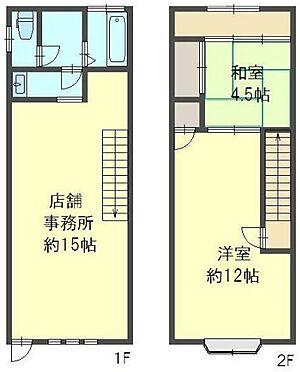 店舗(建物全部)-堺市中区新家町 間取り