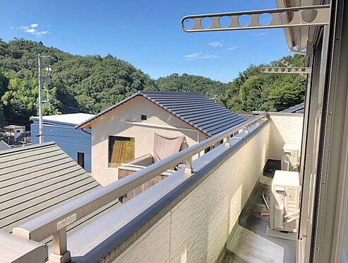 中古一戸建て-豊田市林添町上三五田和 学校から帰ってきたお子様をバルコニーの上からお出迎えできます。