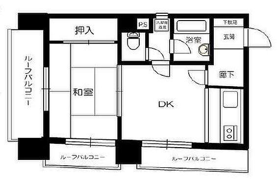 マンション(建物一部)-台東区浅草1丁目 間取り