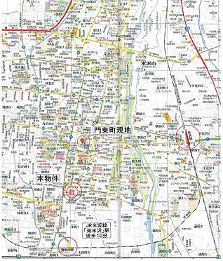 店舗(建物全部)-米沢市本町2丁目 地図