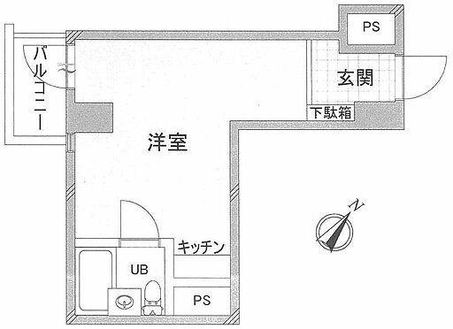 マンション(建物一部)-中央区銀座8丁目 間取り