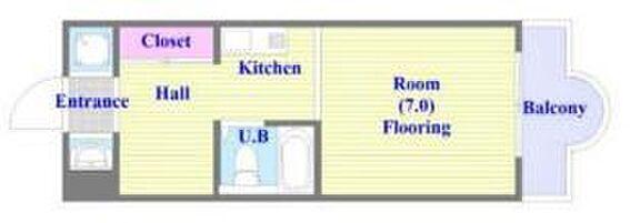 マンション(建物一部)-神戸市須磨区白川台5丁目 間取り
