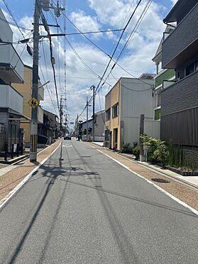 一棟マンション-京都市東山区本町16丁目 前面道路