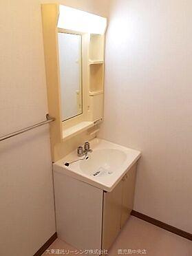 アパート-熊本市北区楡木4丁目 101号室洗面所