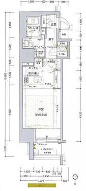 区分マンション-大阪市中央区南船場2丁目 間取り