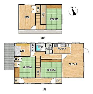 戸建賃貸-尾張旭市旭台2丁目 全室南向きの為、全部屋明るいです。
