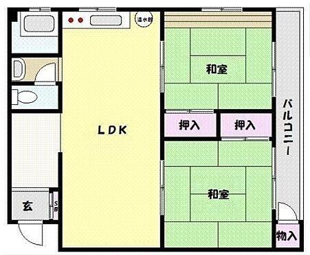 マンション(建物一部)-神戸市東灘区甲南町4丁目 収納スペースもしっかりと確保
