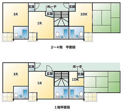 マンション(建物全部)-大阪市平野区加美西1丁目 間取り