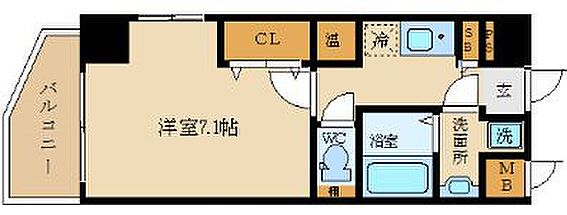 マンション(建物一部)-大阪市西区京町堀2丁目 人気の3点セパレート