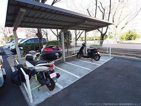 区分マンション-千葉市美浜区高浜4丁目 敷地内バイク置場です!