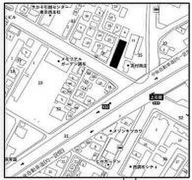 ビル(建物全部)-調布市上石原1丁目 地図