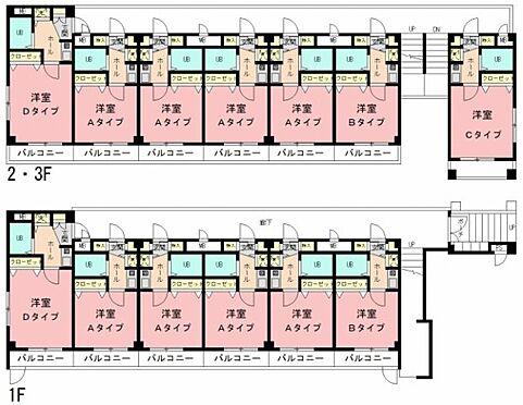 マンション(建物全部)-横浜市港北区綱島東3丁目 間取り