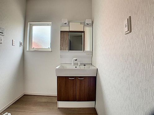新築一戸建て-名古屋市守山区翠松園2丁目 収納が充実した洗面台