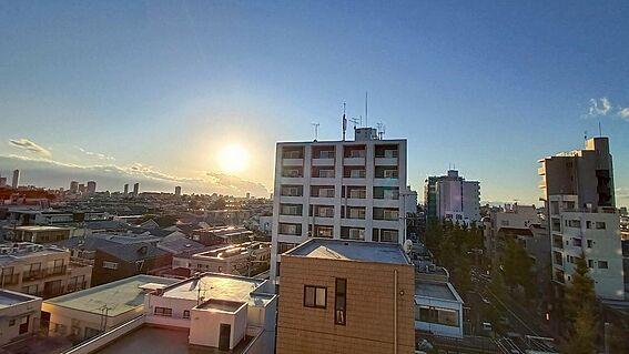 中古マンション-新宿区下落合3丁目 バルコニーからの眺望