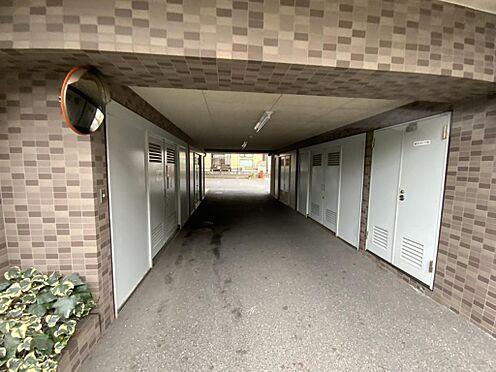 中古マンション-江戸川区中葛西6丁目 ゴミ置き場、自動車通路