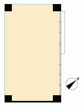 店舗事務所(建物一部)-国立市富士見台1丁目 間取り