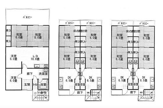 マンション(建物全部)-大阪市東住吉区東田辺3丁目 間取り