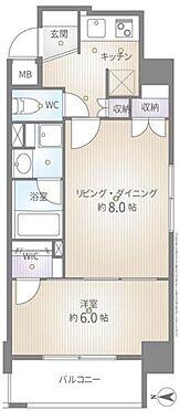 中古マンション-新宿区弁天町 間取り