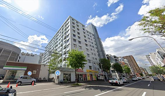 区分マンション-札幌市中央区南六条西9丁目 外観