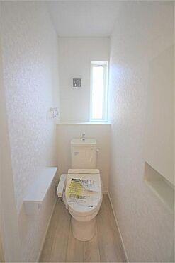 新築一戸建て-仙台市太白区袋原3丁目 トイレ