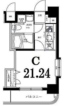 マンション(建物一部)-横浜市西区浅間町5丁目 間取り