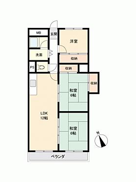 マンション(建物一部)-和歌山市下町 間取り