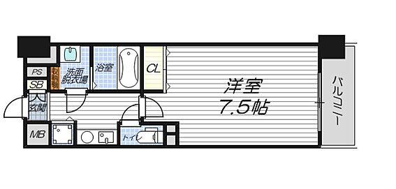 マンション(建物一部)-大阪市北区浮田2丁目 間取り