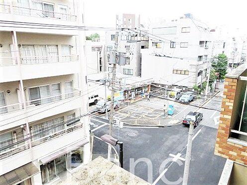 中古マンション-渋谷区千駄ヶ谷3丁目 バルコニーからの眺望。