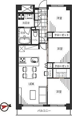 中古マンション-港区芝浦4丁目 66.00m2の3LDK