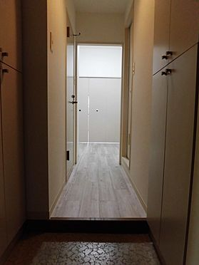 中古マンション-大和市南林間1丁目 直接お部屋の中が見えない設計になっています。※2020.2.1の賃貸前