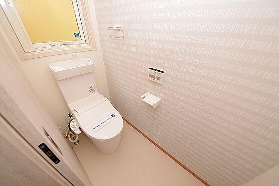 新築一戸建て-仙台市宮城野区萩野町3丁目 トイレ