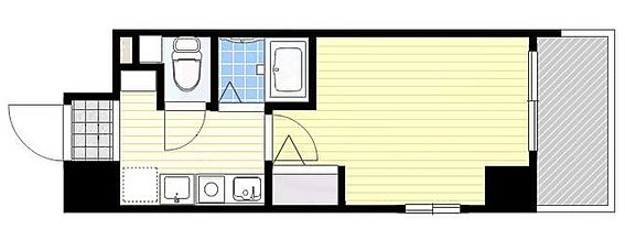 マンション(建物一部)-大阪市中央区上本町西2丁目 単身者に人気のセパレートタイプのワンルーム物件