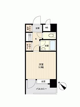 マンション(建物一部)-福岡市博多区御供所町 間取り