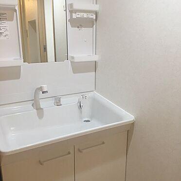 中古マンション-大阪市中央区平野町1丁目 使いやすい洗面所です