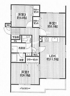 マンション(建物一部)-横浜市戸塚区平戸3丁目 間取り