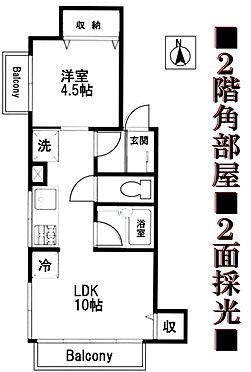 マンション(建物一部)-中野区江古田2丁目 間取り