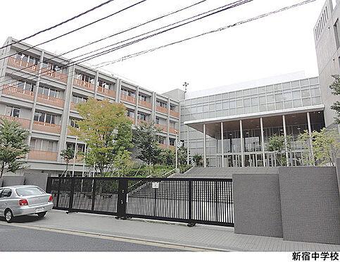一棟マンション-新宿区戸山3丁目 新宿中学校