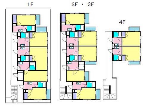 一棟マンション-相模原市中央区矢部 間取り