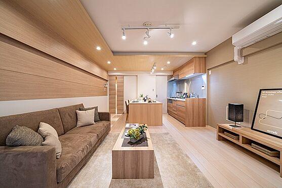 中古マンション-港区三田2丁目 リビングダイニングキッチン