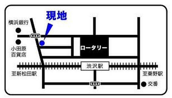 ビル(建物全部)-秦野市柳町1丁目 地図