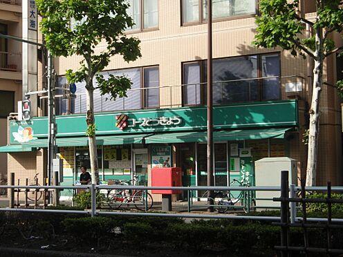アパート-新宿区西早稲田1丁目 【スーパー】ミニコープ早稲田店まで299m